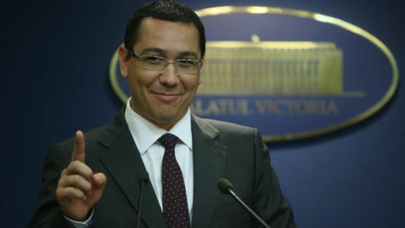 Premierul Ponta: Nu se recalculeaza pensiile speciale