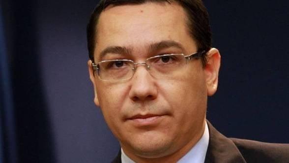 Premierul Ponta, in vizita oficiala in China in perioada 30 august - 3 septembrie