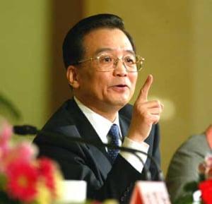 Premierul chinez spune ca o crestere de 8% a economiei este posibila in 2009