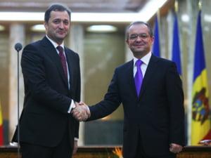 Premierul moldovean i-a multumit lui Emil Boc pentru ajutorul acordat la Bruxelles