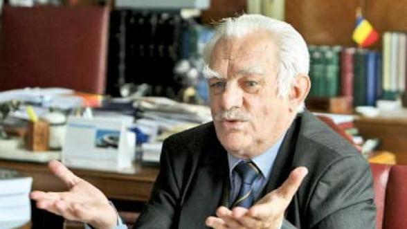 Presedintele Academiei Romane: Proiectul Rosia Montana nu este acceptabil - Interviu