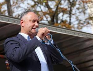 Presedintele Dodon, suspendat din functie pentru a cincea oara in mai putin de un an