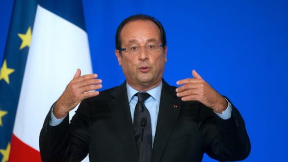 Presedintele François Hollande a dezamagit peste doua treimi din francezi