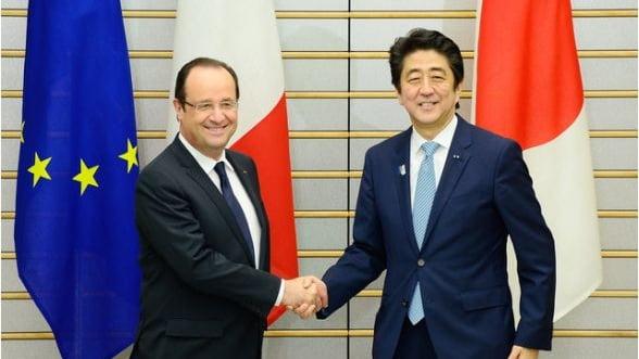 Presedintele Frantei face o gafa de proportii. Confunda poporul japonez cu cel chinez