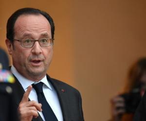 Presedintele Frantei sustine ca Europa trebuie sa raspunda ferm politicilor lui Donald Trump