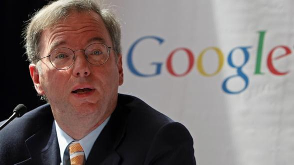 """Presedintele Google: Spionajul american al datelor internautilor este """"scandalos"""""""