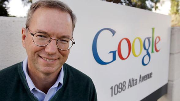 Presedintele Google are nevoie de lichiditati. Isi vinde 42% din actiuni