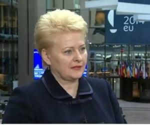 Presedintele Lituaniei, despre amenintarea de la Moscova: Suntem deja atacati!