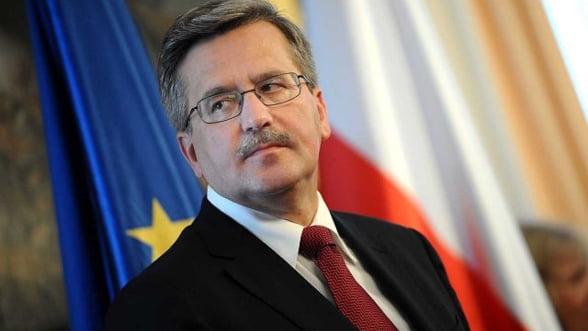 Presedintele Poloniei: In 2015 trebuie sa fim pregatiti pentru adoptarea euro