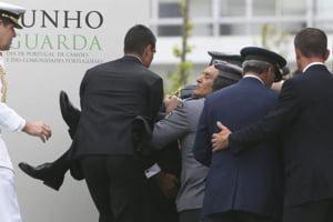 Presedintele Portugaliei a lesinat in timpul unui discurs oficial