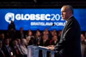 """Presedintele Slovaciei s-a dezlantuit impotriva Rusiei, dar a criticat si """"interesele egoiste"""" ale Germaniei: Cat de ingusti la minte suntem!"""