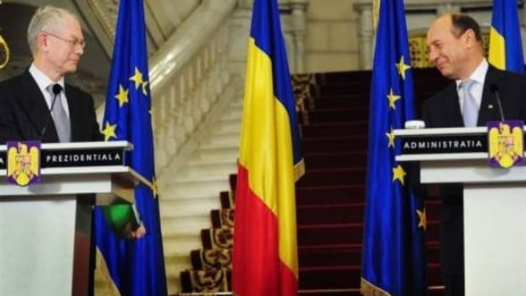 Presedintele se intalneste cu Rompuy. Vezi principalele teme de discutie