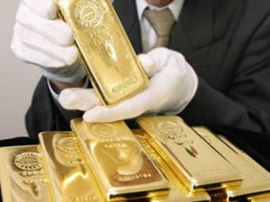 Pretul aurului a crescut pana la 1,659 dolari/uncia