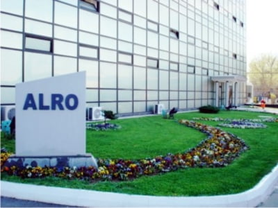 Alro Slatina: Profit in scadere de aproape 12 ori in S1