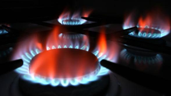 Pretul gazelor va creste cu 20% dupa liberalizare