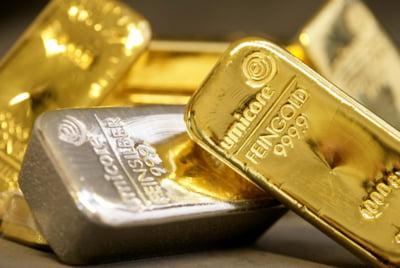 Pretul metalelor pretioase creste, pe fondul vestilor FMI