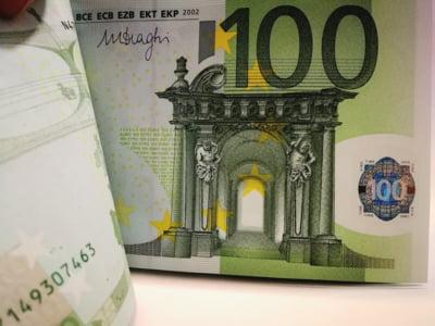 Previziuni: Euro ar putea ajunge la 4,90 lei la finalul anului