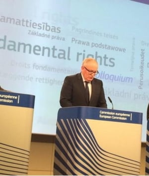 Prim-vicepresedintele CE: Antisemitismul si islamofobia, in ascensiune in Europa