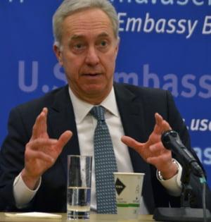 Prima reactie a ambasadorului SUA la Bucuresti dupa ce a aflat rezultatul alegerilor