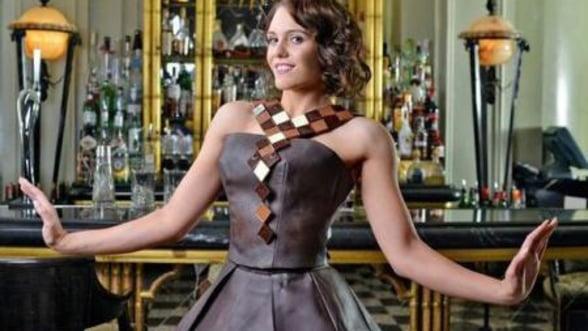 Prima rochie haute-couture realizata din ciocolata