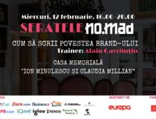 """Prima serata NO.MAD a anului va avea loc pe 12 februarie, in Casa Memoriala """"Ion Minulescu si Claudia Millian"""""""