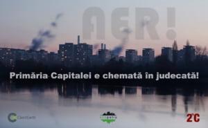 Primaria Capitalei a fost data in judecata pentru calitatea aerului din Bucuresti