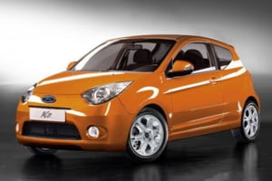 Primele fotografii cu viitorul Ford Ka