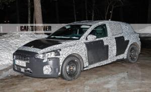 Primele fotografii spion cu prototipul Ford Focus 2019
