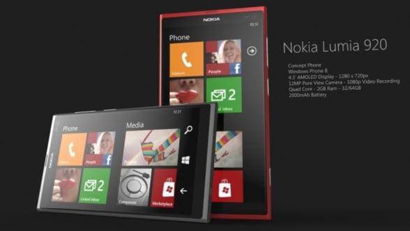 Primele imagini cu Nokia Lumia 920 si Lumia 820