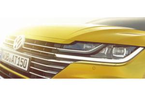 Primele imagini cu noul model Volkswagen