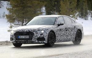 Primele imagini spion cu noul Audi A6 (Foto)