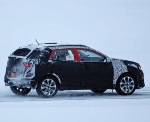 Primele imagini spion cu noul SUV al Kia