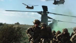 """Primele trupe britanice au sosit in Estonia, cu scopul sa descurajeze """"agresiunea rusa"""""""