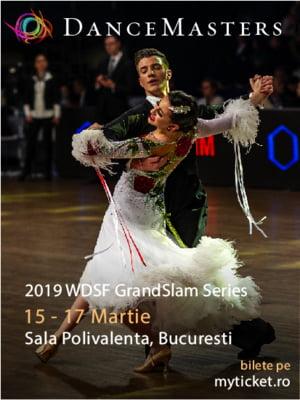 Primul Grand Slam de dans din Romania, la DanceMasters 2019