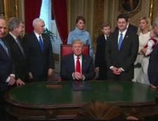 Primul anunt de la Casa Alba cu Trump presedinte: Vom dezvolta un sistem antiracheta de ultima generatie