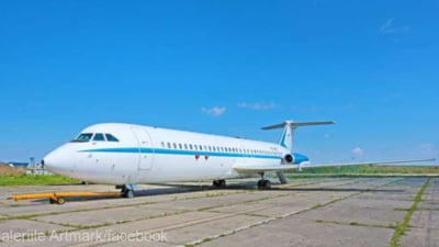 Primul avion de pasageri construit in Romania, folosit de Nicolae Ceausescu timp de patru ani, este scos la licitatie. Si un avion folosit de Ion Iliescu este pus in vanzare