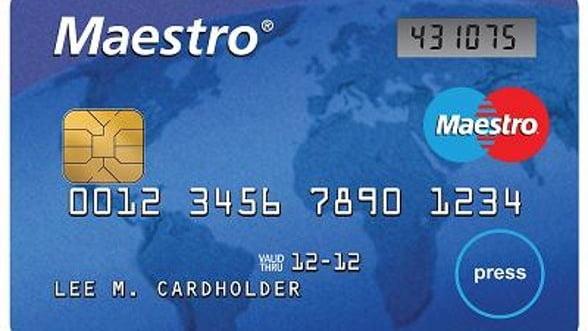 Primul card cu display a fost lansat in Romania