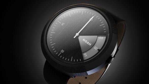 Primul ceas inteligent din lemn va fi lansat de o companie 100% romaneasca