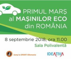 Primul mars al masinilor eco din Romania ia startul sambata la Bucuresti