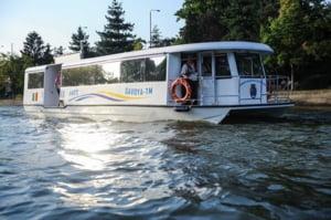 Primul oras din Romania cu transport public pe apa