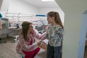 Printesa Dina Mired a Iordaniei a vizitat spitalul de ingrijire paliativa al Fundatiei HOSPICE Casa Sperantei din Bucuresti