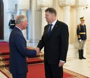 Printul Charles vine in vizita oficiala in Romania. Iohannis da o receptie in onoarea lui