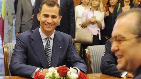 Printul Felipe al Spaniei vine la Bucuresti pentru UEFA Europa League