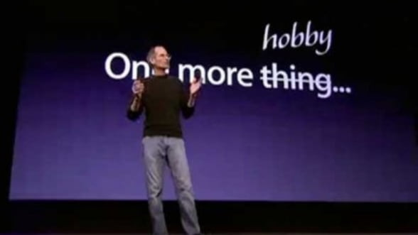 Problema televiziunii, in viziunea lui Steve Jobs