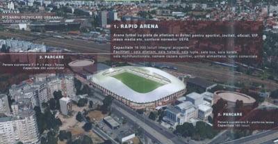 Probleme cu noul stadion Giulesti: Companiile cresc pretul