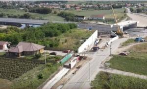 Probleme pe lotul 2 al autostrăzii Sebeș - Turda. O familie grav afectată de șantier cere în justiție oprirea lucrărilor și daune de peste 100.000 de euro VIDEO