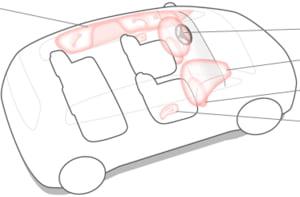 Producatorul de piese auto Takata intampina probleme dupa scandalul airbagurilor