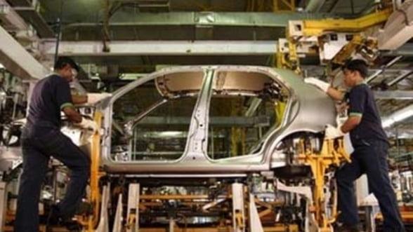 Productia industriala, in crestere in luna august