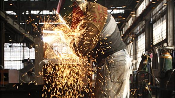 Productia industriala din Romania a scazut in luna mai