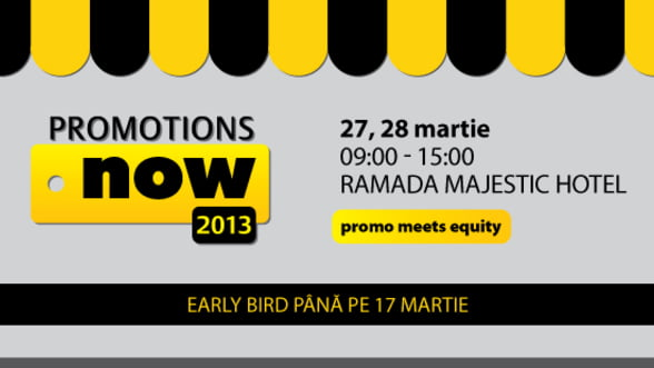 Profesionistii in marketing se intalnesc la Conferinta Promotions Now 2013